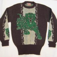 E.O.F. Approved: Vintage Mens 1940s/1950s Tiger Sweater