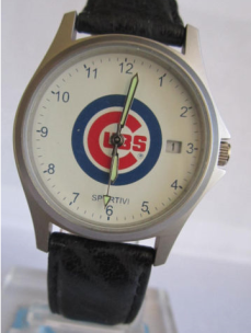 VINTAGE CHICAGO CUBS MLB BASEBALL JAPAN MENS WATCH 1