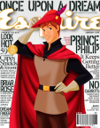 Disney prince philip esquire