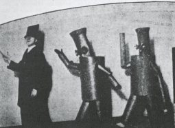 dreams robots fortunato despero ballet 1924