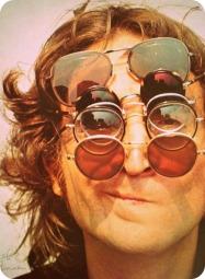 glasses on john lennon