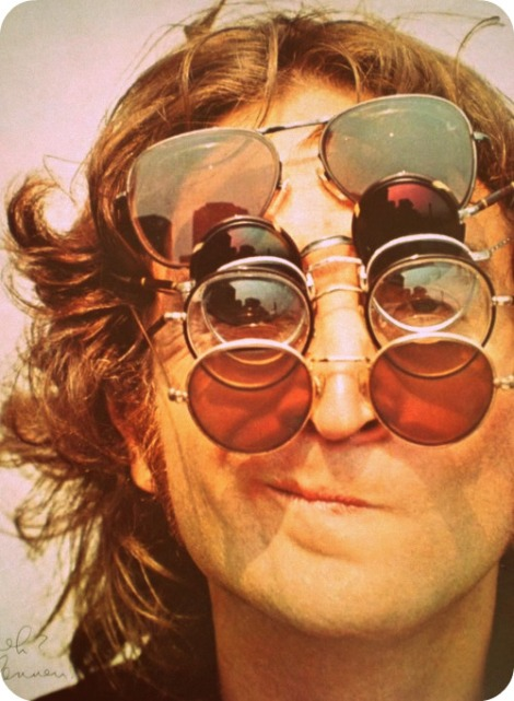 glasses on john lennon
