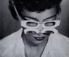 glasses the eye freaky mirror lenses