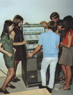music lovers retro jukebox