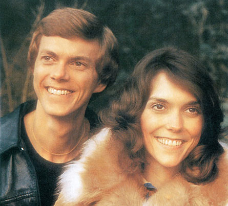 Richard Carpenter and Karen Carpenter