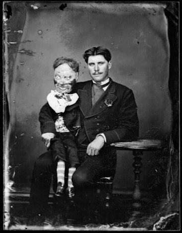 ventriloquy Edwardian ventriloquist