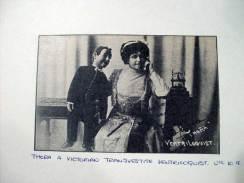 ventriloquy thora victorian transvestite with dummy