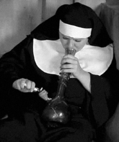 Women Eye of Faith Nun toke