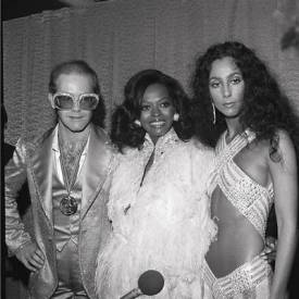 women of the Eye cher and diana ross with elton john