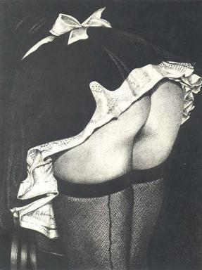 Women of the Eye French Maid Ass