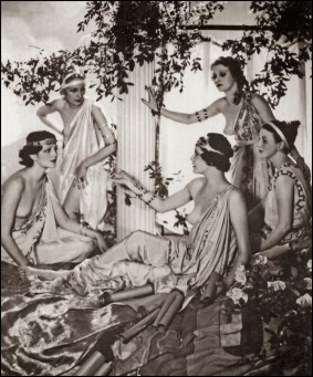 Women of the Eye Grecian Lejaren A Hiller Aspasia Of Athens 1933