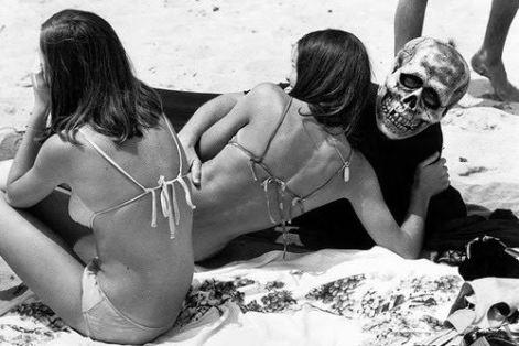 women of the eye on beach