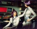 women of the eye purple hair spacewomen