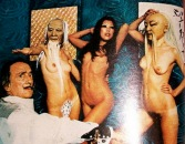 Women of the Eye Salvatore Dali in Playboy
