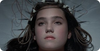 jennifer connelly- crown of wires- vintage inspiration- phenomena 1985