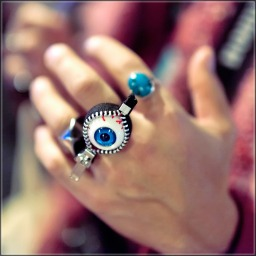 jewelrey eyeball zipper ring pipncute
