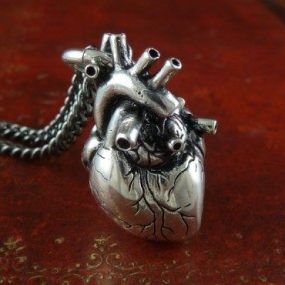 jewelry heart shaped pendant