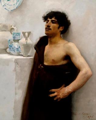 John Sargent - Portrait of a Young Man