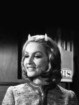 Julie Newmar Miss Devlin from Twilight Zone Ep Of Late I think of Cliffordville 1963