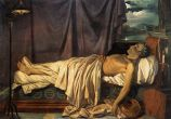 Lord Byron on his Deathbed c.1826