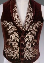 Menswear French Vest circa 1700s