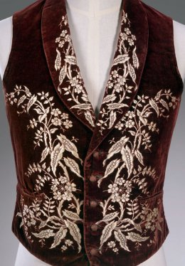 Menswear French Vest circa 1700s