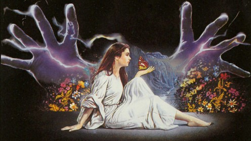 vintage 1985 illustration- dario argento's phenomena