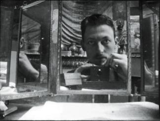 A Night in a Haunted House 3- henri evanpoel-self portrait