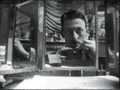 A Night in a Haunted House 3- henri evanpoel-self portrait