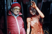Brian De Palma and Sissy Spacek Behind the Scenes Carrie (1976)