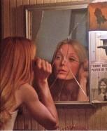 Carrie 1976- Mirror Makeup Mirror - Sissy Spacek