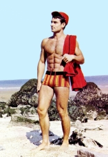 Christian Ferrand's Beach Outfit
