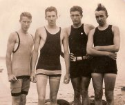 Group of Friends from the 1910s