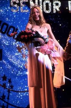 Sissy Spacek as Carrie Winning Prom Queen