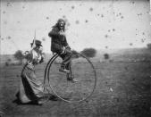 Bicycle retro goofy