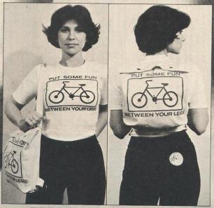 Bike Ride vintage picture