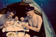 EOF- breakfast onboard the boat - 1936