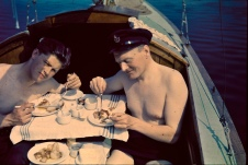 EOF- breakfast onboard the boat - 1936