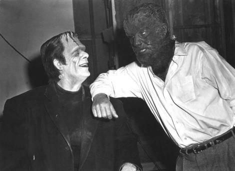 Friends Forever - Frankenstein and the Wolfman