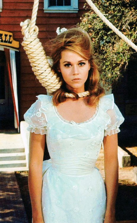Jane Fonda in Cat Ballou 1965