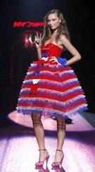 red white blue betsey-johnson-red-white-and-blue-prom-dress