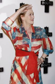 red white blue meryl streep