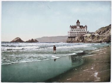 the cliff house - san francisco- 1899
