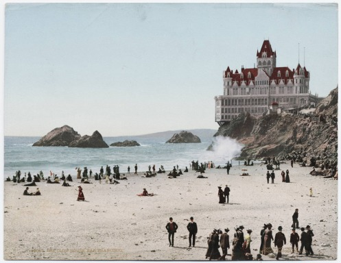 the cliff house - san francisco - 1902