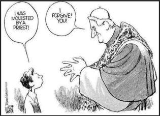 Catholic cartoon molestation