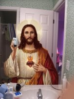 catholic jesus iphone photo