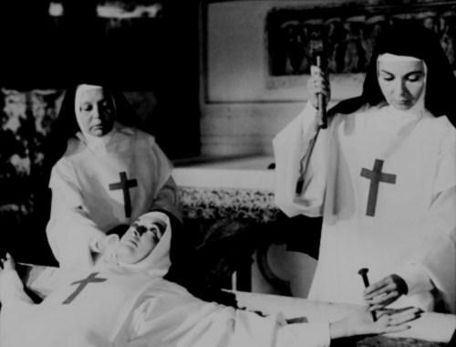 catholic nuns crucify