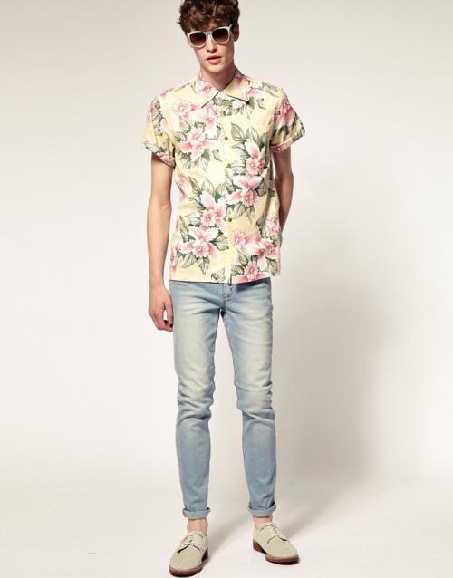cool dude in a cool hawaiian shirt