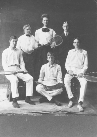 EOF Victorian Tennis - Cabinet Photo