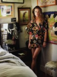 erin wasson is cool in a hawaiian shirt